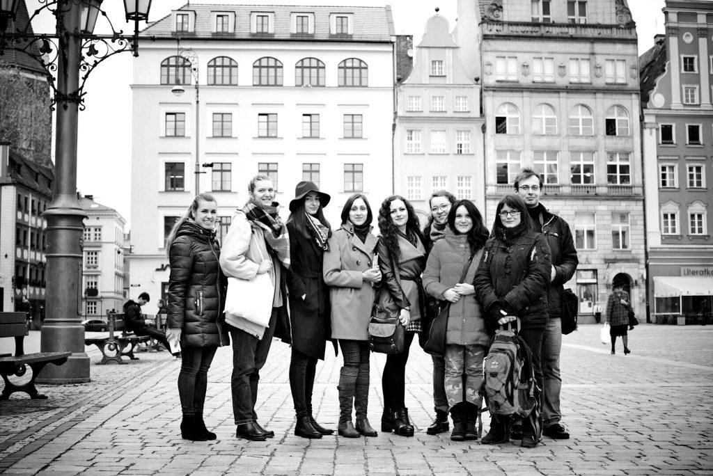 Учасники літературної подорожі у Вроцлаві. Фото Оксани Боровець