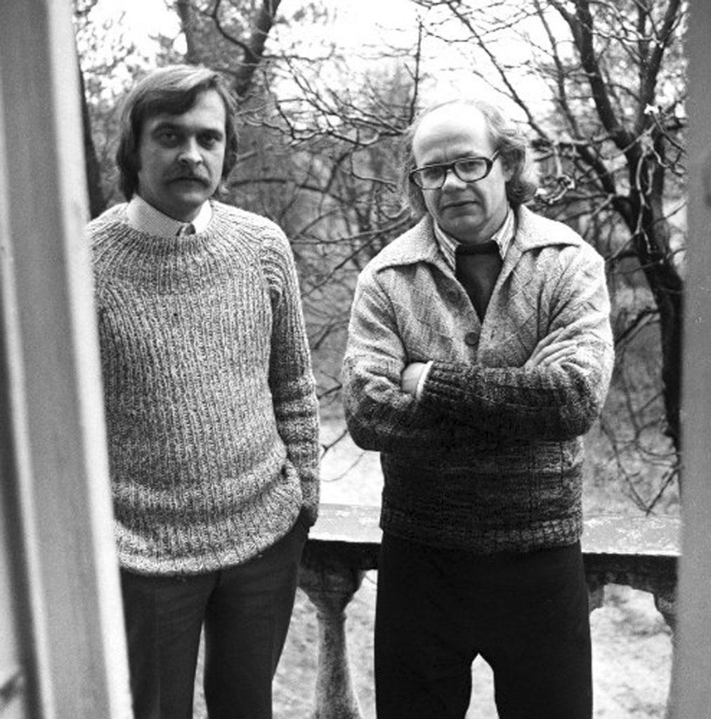 Іван Драч з Іваном Миколайчуком (1960-ті роки)
