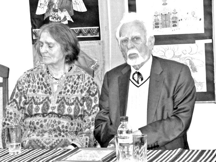 Ніна Бічуя і Роман Іваничук