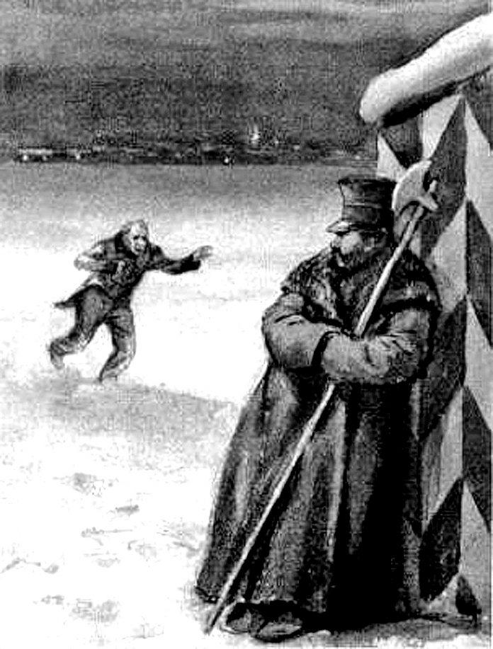 Кукринікси. Ілюстрація до повісті М. Гоголя «Шинель»