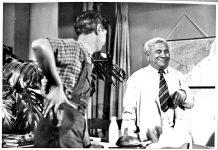 М.Яковченко у кінофільмі «Королева бензоколонки». 1963 р.