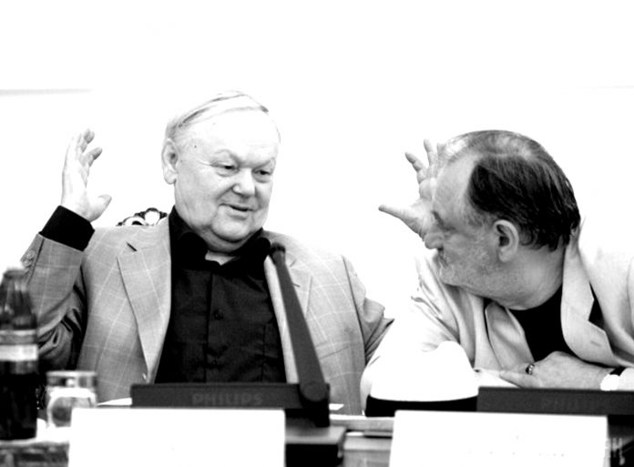 Борис Олійник і Богдан Ступка