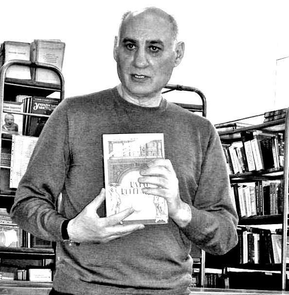 На фото: Григорій Гусейнов, головний редактор журналу «Кур'єр Кривбасу»