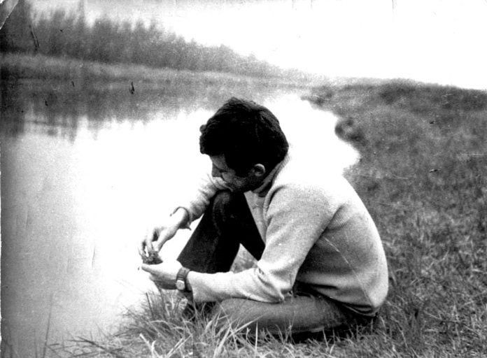 На фото: Юрій Вівташ (1970-ті роки)