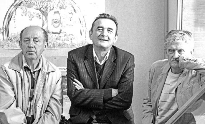 На фото (зліва направо): Станіслав Вишенський, Ярослав Орос, Олег Жупанський