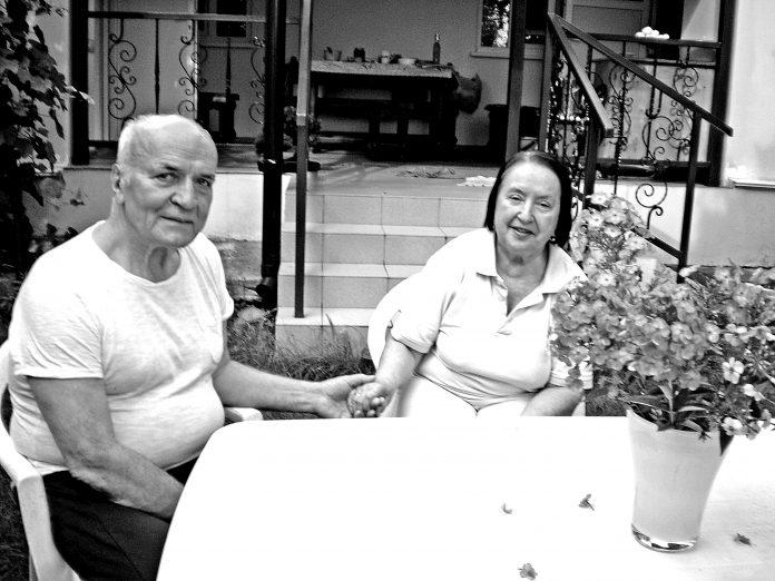 Віталій Корж з дружиною Любов'ю Василівною