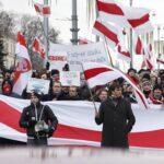 Rally against Belarus-Russia deeper integration in Minsk